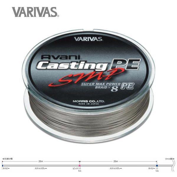 VARIVAS(バリバス) キャスティングPE SMP[スーパーマックスパワー]6号/MAX90lb 300m