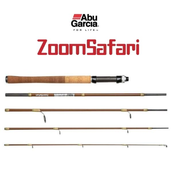 AbuGarcia(アブ・ガルシア) ZoomSafari(ズームサファリ) ZMSS-705ML【5ピーススピニングロッド】