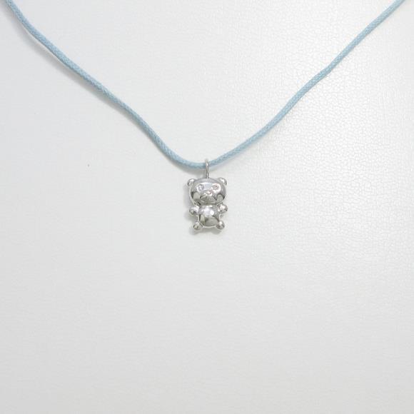 ポンテヴェキオ ベア ダイヤモンドペンダント【中古】 【店頭受取対応商品】