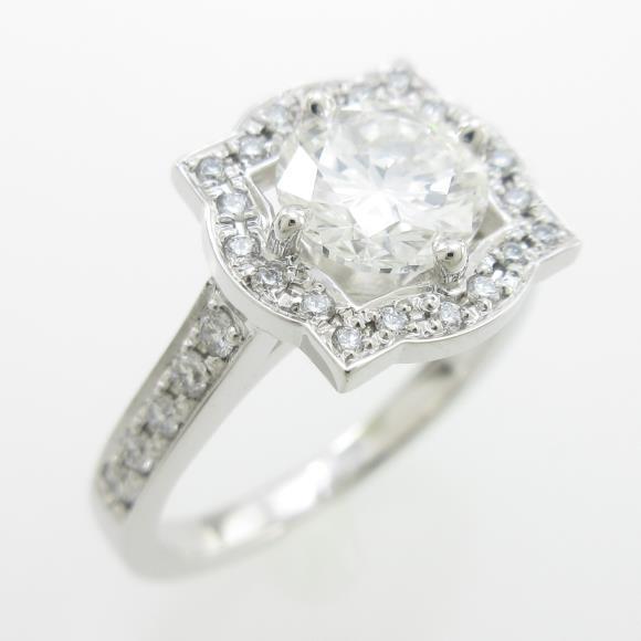 プラチナダイヤモンドリング 1.006ct・G・VS1・GOOD【中古】 【店頭受取対応商品】