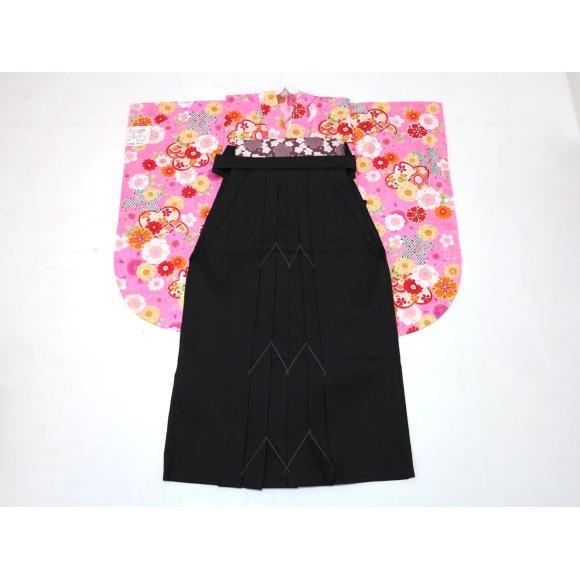 【新品】女児卒業式着物4点セット【新品】