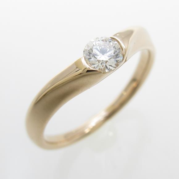 ラザール ダイヤモンド ダイヤモンドリング 0.21ct・H・SI1【中古】 【店頭受取対応商品】