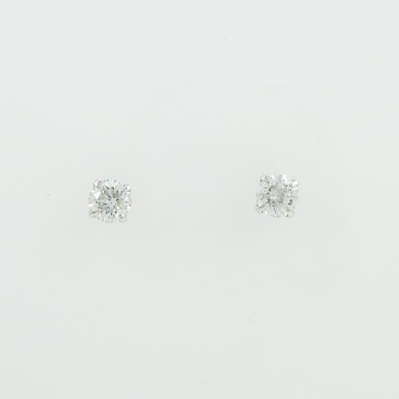 プラチナダイヤモンドピアス 0.221ct・0.2420ct・G・SI1-2・VERYGOOD【中古】 【店頭受取対応商品】