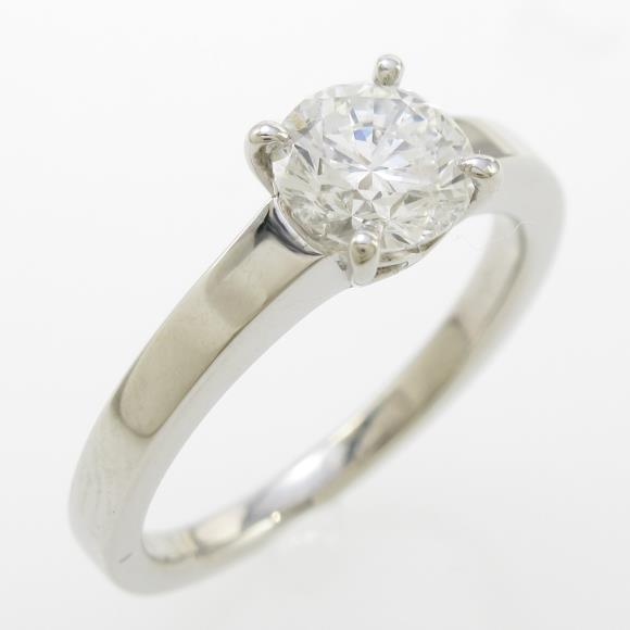 プラチナダイヤモンドリング 0.777ct・F・VVS1・VERYGOOD【中古】 【店頭受取対応商品】