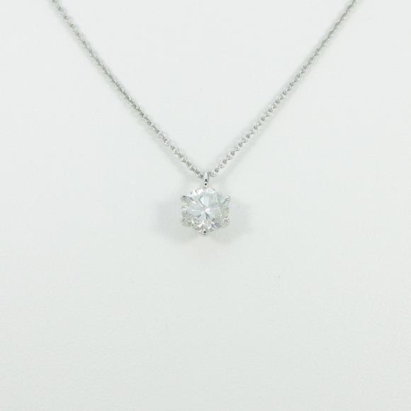 プラチナダイヤモンドネックレス 1.427ct・H・SI2・GOOD【中古】 【店頭受取対応商品】