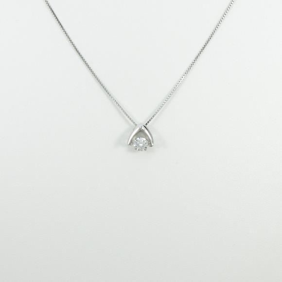 プラチナダイヤモンドネックレス 0.311ct・G・SI2・EXT【新品】 【店頭受取対応商品】