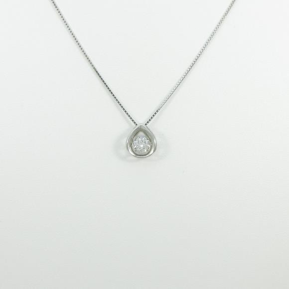 【新品】プラチナダイヤモンドネックレス 0.452ct・E・SI2・GOOD【新品】 【店頭受取対応商品】
