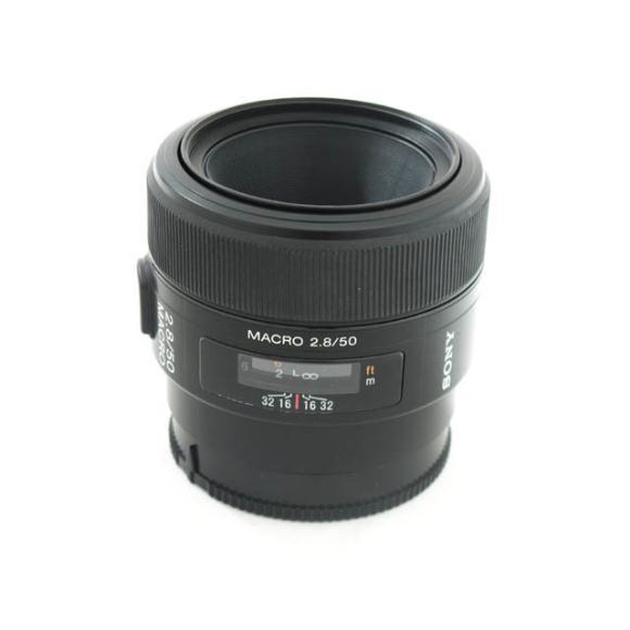 SONY 50mm F2.8MACRO【中古】