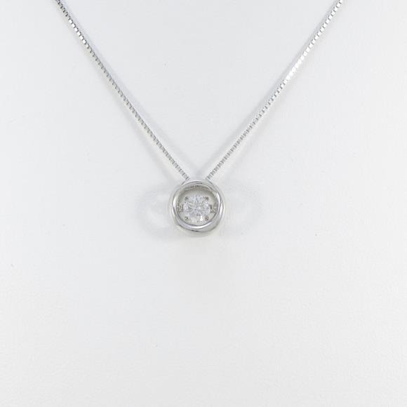 【新品】プラチナダイヤモンドネックレス 0.354ct・F・SI2・GOOD【新品】 【店頭受取対応商品】