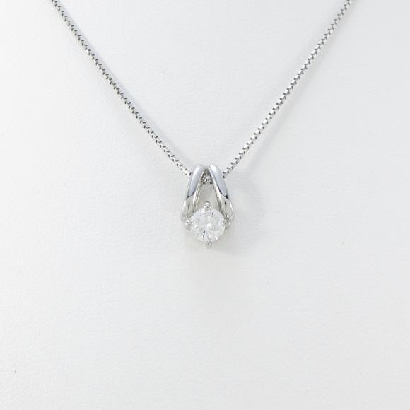【新品】プラチナダイヤモンドネックレス 0.331ct・H・SI2・GOOD【新品】 【店頭受取対応商品】
