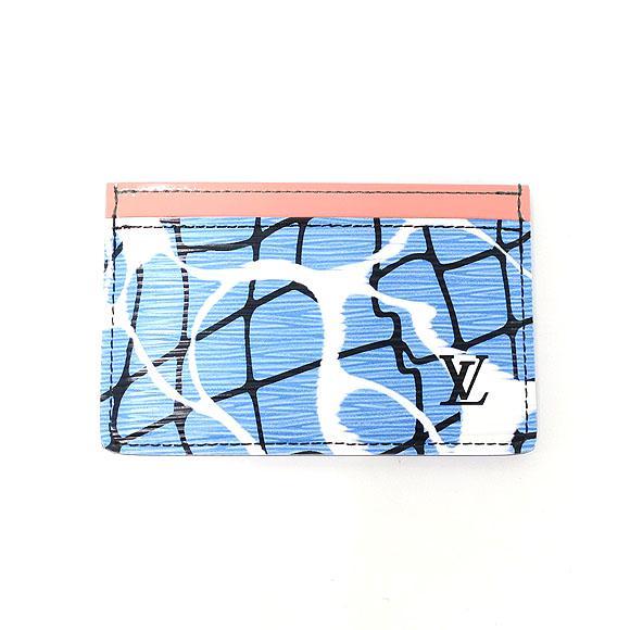 ルイヴィトン キュイール エピ カードケース M61653【中古】 【店頭受取対応商品】