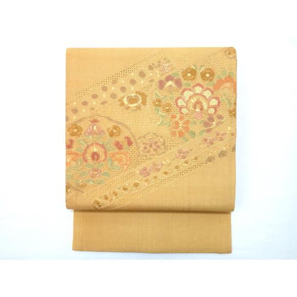 袋帯紬織【中古】