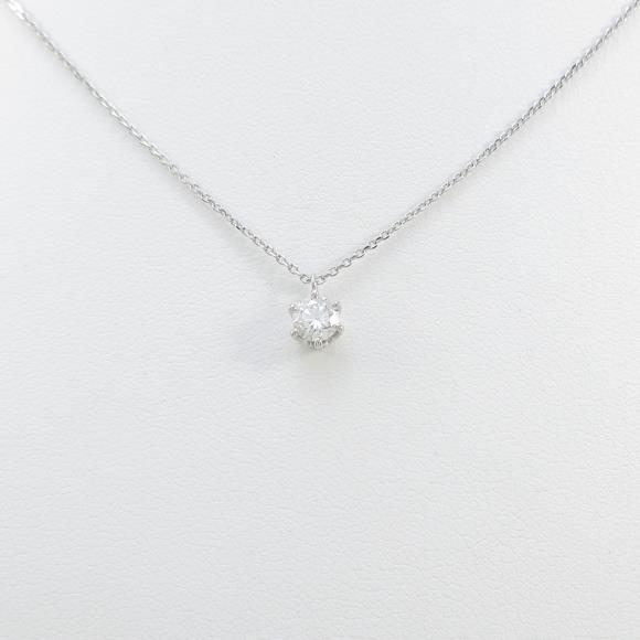 【新品】プラチナダイヤモンドネックレス 0.258ct・H・SI2・VERYGOOD【新品】 【店頭受取対応商品】