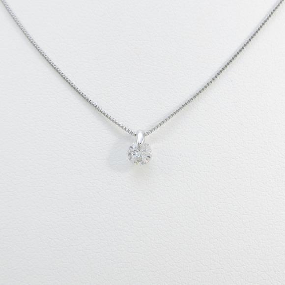 【リメイク】プラチナダイヤモンドネックレス 0.205ct・E・I1・GOOD【中古】 【店頭受取対応商品】