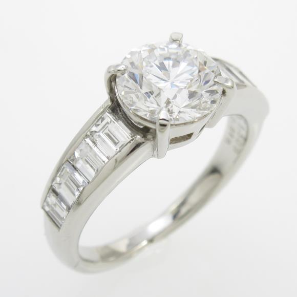 PT ダイヤモンドリング 1.509ct・D・VS1・GOOD【中古】 【店頭受取対応商品】