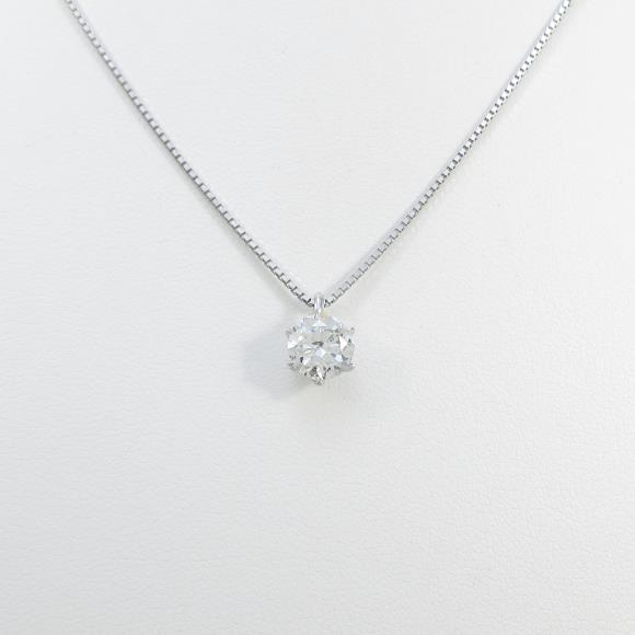 【リメイク】プラチナダイヤモンドネックレス 1.011ct・H・I1・GOOD【中古】 【店頭受取対応商品】
