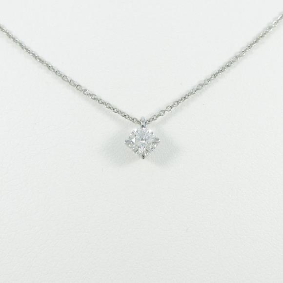 【リメイク】プラチナダイヤモンドネックレス 0.300ct・G・VS2・GOOD【中古】 【店頭受取対応商品】