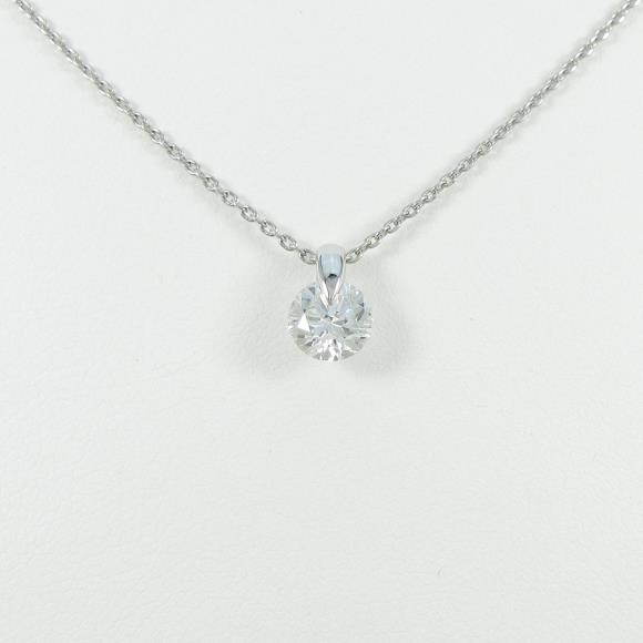 【リメイク】プラチナダイヤモンドネックレス 1.025ct・F・I1・GOOD【中古】 【店頭受取対応商品】