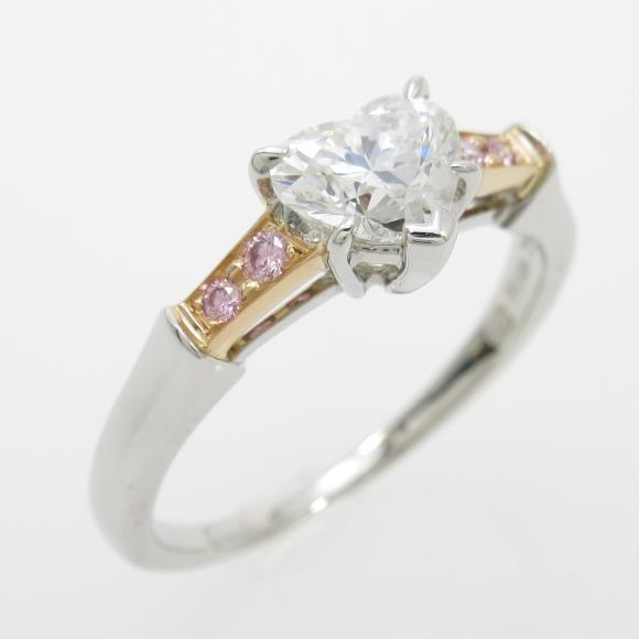 ハリーウィンストン ダイヤモンドリング 0.77ct・E・VVS1・ハートシェイプ【中古】 【店頭受取対応商品】