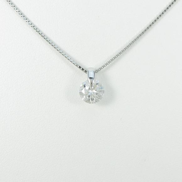 【リメイク】プラチナダイヤモンドネックレス 1.054ct・E・SI2・GOOD【中古】 【店頭受取対応商品】