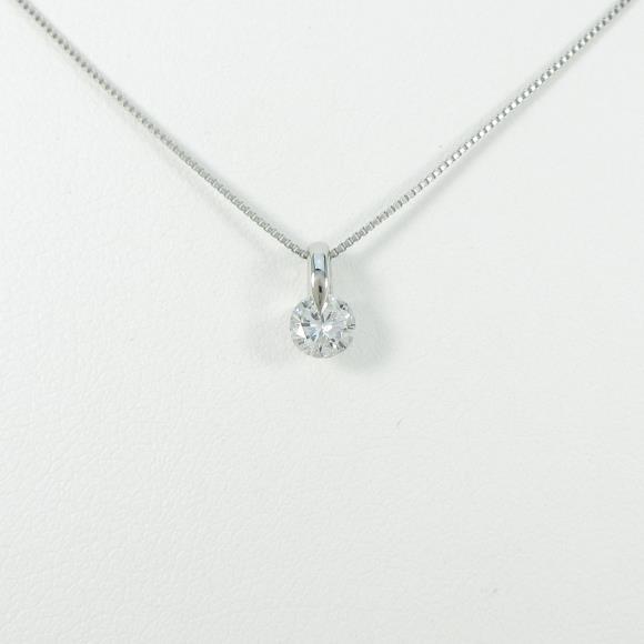 【新品】プラチナダイヤモンドネックレス 0.285ct・E・SI2・GOOD【新品】 【店頭受取対応商品】