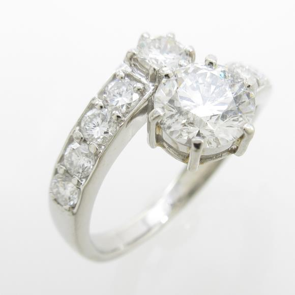 PT ダイヤモンドリング 1.052ct・G・SI2・EXT【中古】 【店頭受取対応商品】
