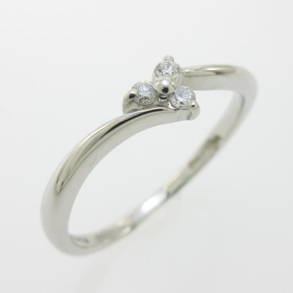 ヴァンドーム フラワー ダイヤモンドリング【中古】 【店頭受取対応商品】