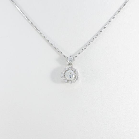 【新品】プラチナダイヤモンドネックレス 0.234ct・F・SI1・GOOD【新品】 【店頭受取対応商品】