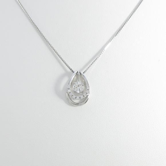 【新品】プラチナダイヤモンドネックレス 0.304ct・E・SI2・GOOD【新品】 【店頭受取対応商品】