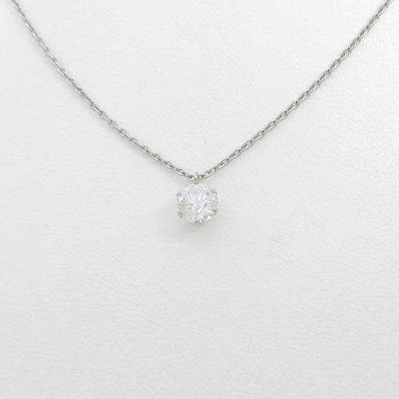 【リメイク】プラチナダイヤモンドネックレス 1.018ct・F・I1・GOOD【中古】 【店頭受取対応商品】