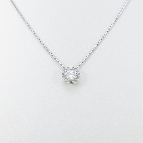 【新品】プラチナダイヤモンドネックレス 0.291ct・H・SI2・GOOD【新品】 【店頭受取対応商品】
