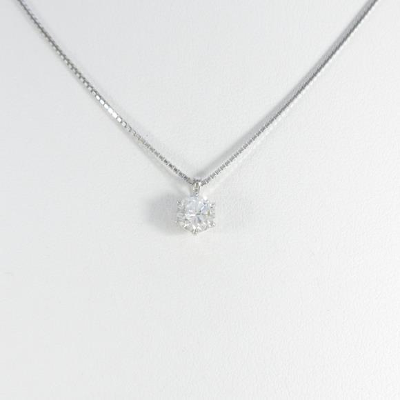 【新品】プラチナダイヤモンドネックレス 0.414ct・H・SI2・GOOD【新品】 【店頭受取対応商品】
