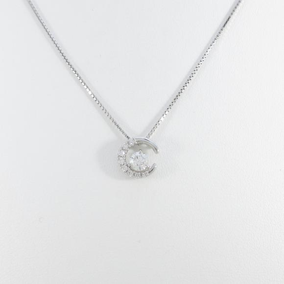 【新品】プラチナダイヤモンドネックレス 0.252ct・F・SI2・VERYGOOD【新品】 【店頭受取対応商品】