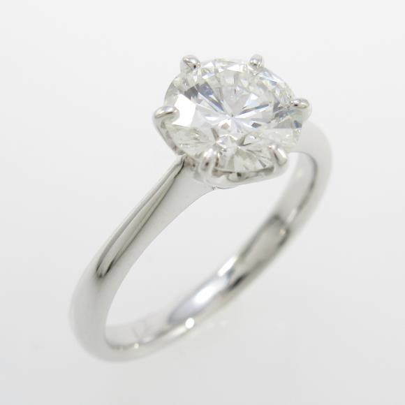 【リメイク】プラチナダイヤモンドリング 1.019ct・G・VS2・VERYGOOD【中古】 【店頭受取対応商品】