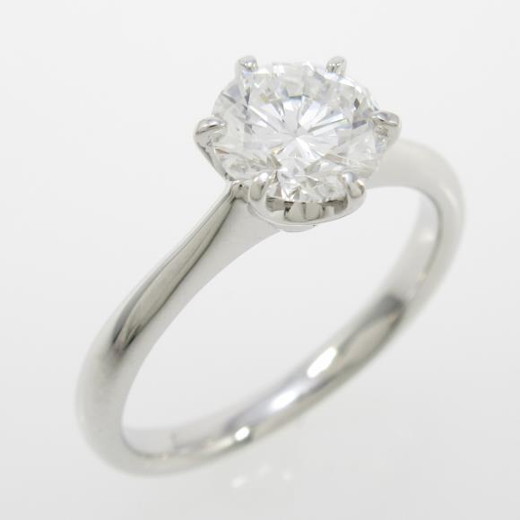 【リメイク】プラチナダイヤモンドリング 1.016ct・E・VVS2・VERYGOOD【中古】 【店頭受取対応商品】