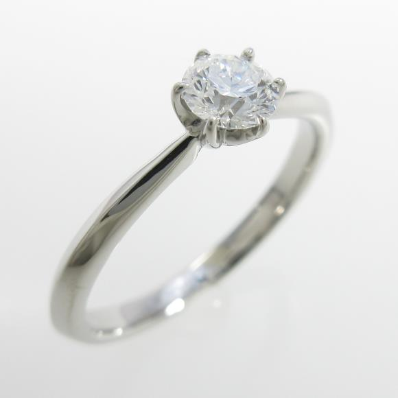 プラチナダイヤモンドリング 0.273ct・D・FL・EXT H&C【中古】 【店頭受取対応商品】