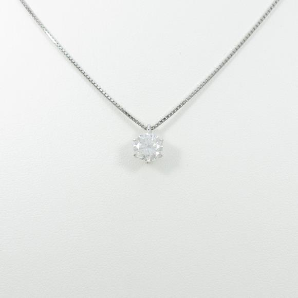 【リメイク】プラチナダイヤモンドネックレス 1.025ct・E・I1・GOOD【中古】 【店頭受取対応商品】