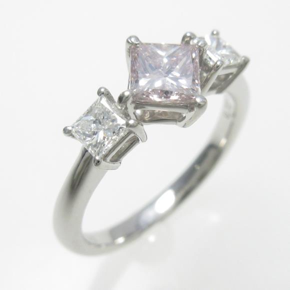 プラチナダイヤモンドリング 0.526ct・FLBP・SI2【中古】 【店頭受取対応商品】