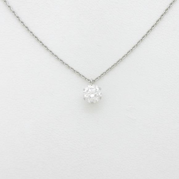 【リメイク】プラチナダイヤモンドネックレス 1.024ct・G・SI2・EXT【中古】 【店頭受取対応商品】