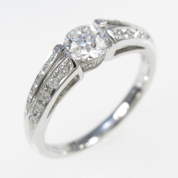 【リメイク】プラチナダイヤモンドリング 0.314ct・D・VVS1・VERYGOOD【中古】 【店頭受取対応商品】
