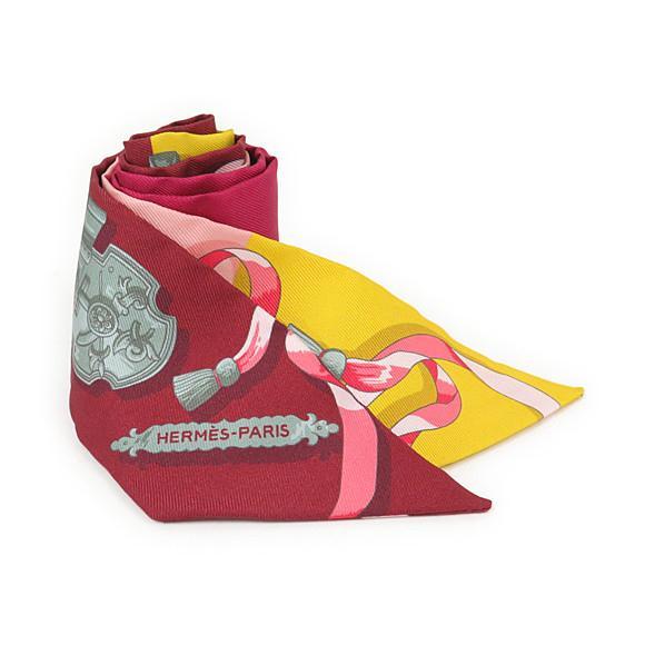 【未使用品】エルメス ツイリー スカーフ 061522S【中古】 【店頭受取対応商品】
