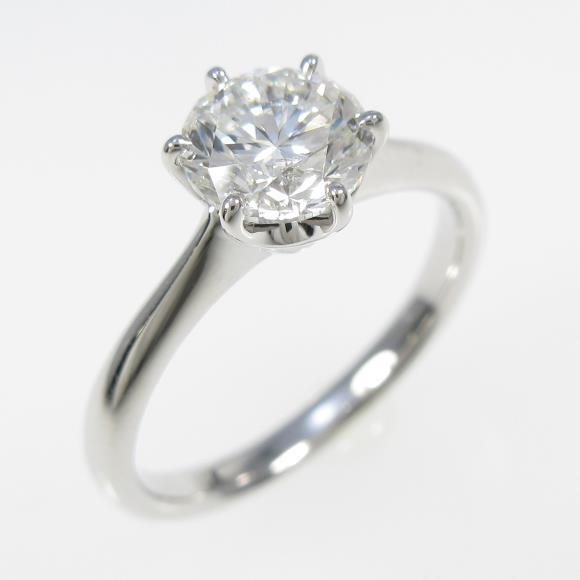 【リメイク】プラチナダイヤモンドリング 1.084ct・G・SI1・GOOD【中古】 【店頭受取対応商品】