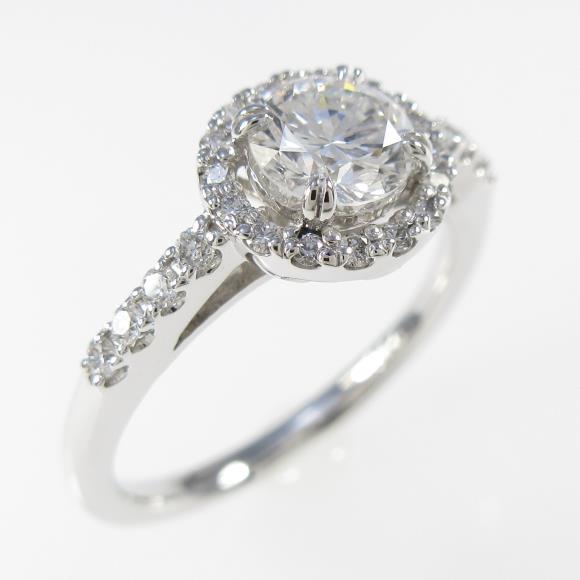 【リメイク】プラチナダイヤモンドリング 0.500ct・D・VS1・VERYGOOD【中古】 【店頭受取対応商品】