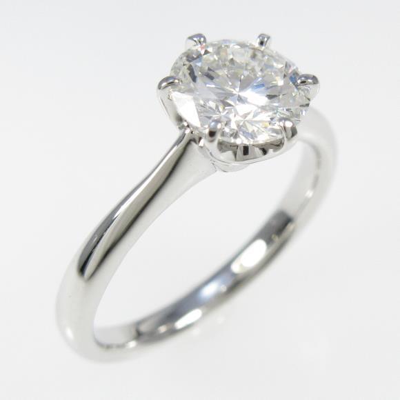 【リメイク】プラチナダイヤモンドリング 1.001ct・G・VS1・VERYGOOD【中古】 【店頭受取対応商品】