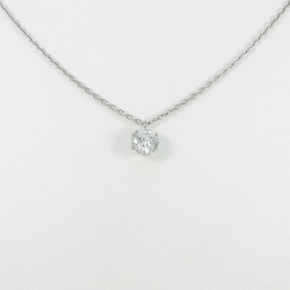 【リメイク】プラチナダイヤモンドネックレス 1.006ct・H・SI2・GOOD【中古】 【店頭受取対応商品】