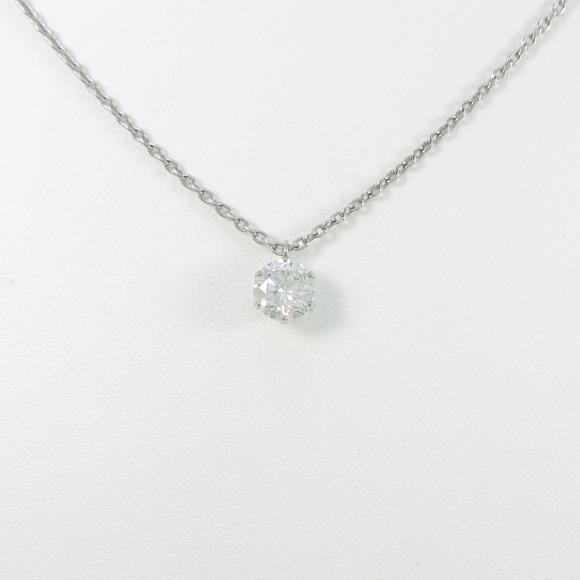 【リメイク】プラチナダイヤモンドネックレス 1.008ct・G・I1・GOOD【中古】 【店頭受取対応商品】