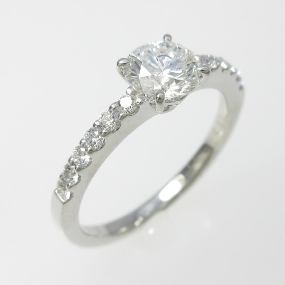 プラチナダイヤモンドリング 0.713ct・G・VS2・VERYGOOD【中古】 【店頭受取対応商品】