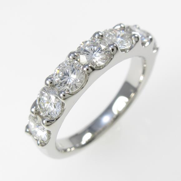 【新品】プラチナダイヤモンドリング 1.516ct・F・SI2・GOOD【新品】 【店頭受取対応商品】