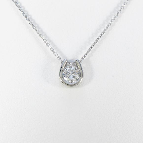 【新品】プラチナダイヤモンドネックレス 0.285ct・G・SI2・GOOD【新品】 【店頭受取対応商品】