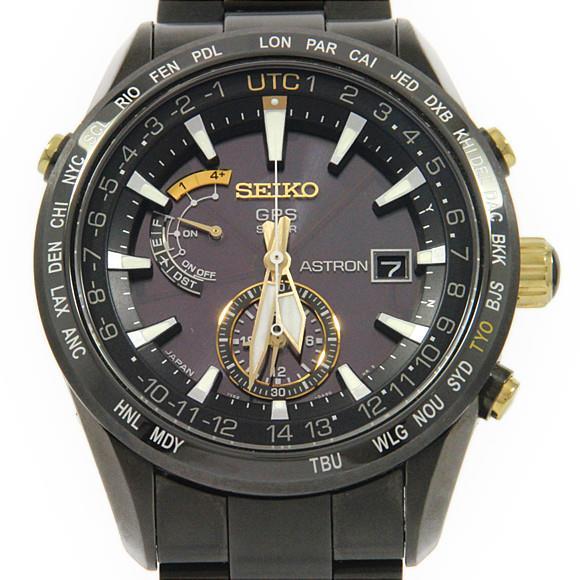 133d89296e82 セイコー SBXA100 アストロンGPS・服部金太郎 LIMITED ソーラークォーツ【中古】 【店頭受取対応商品】-メンズ腕時計